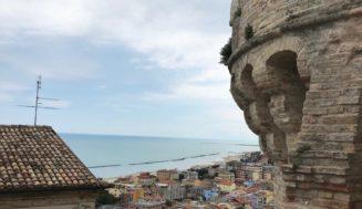 Grottammare, il paese arroccato sul mare