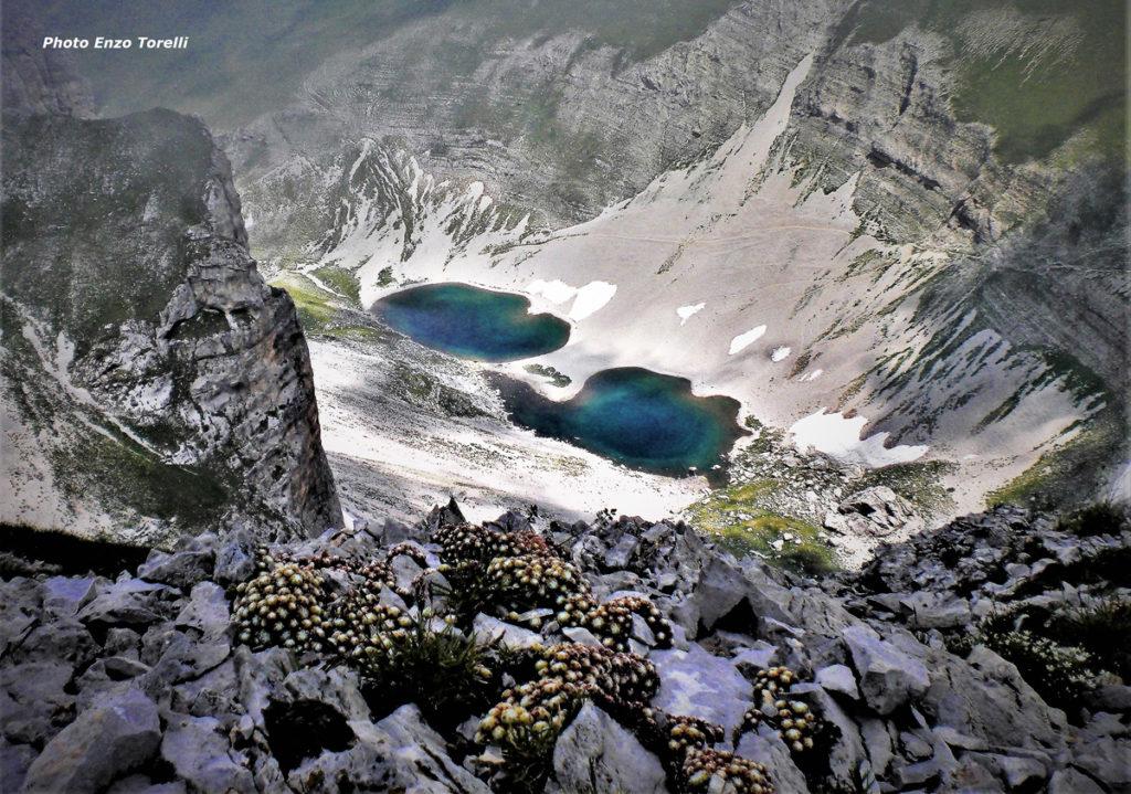 La foto del lago di Pilato nelle Marche